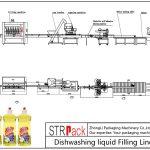 خط پر کردن ماشین ظرفشویی اتوماتیک