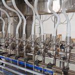دستگاه های پر کننده مایع برای سیستم های خط بطری بطری