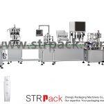 دستگاه پرکن و درب اتوماتیک امولسیون آب