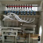 خط پر کننده مایعات خورنده ، خط پر کننده مایع Harpic ، دستگاه پر کننده توالت