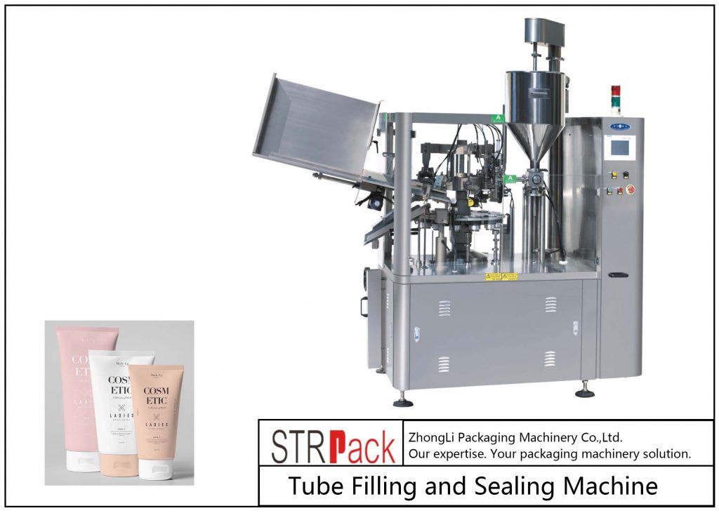دستگاه پر کردن و آب بندی لوله پلاستیکی SFS-100