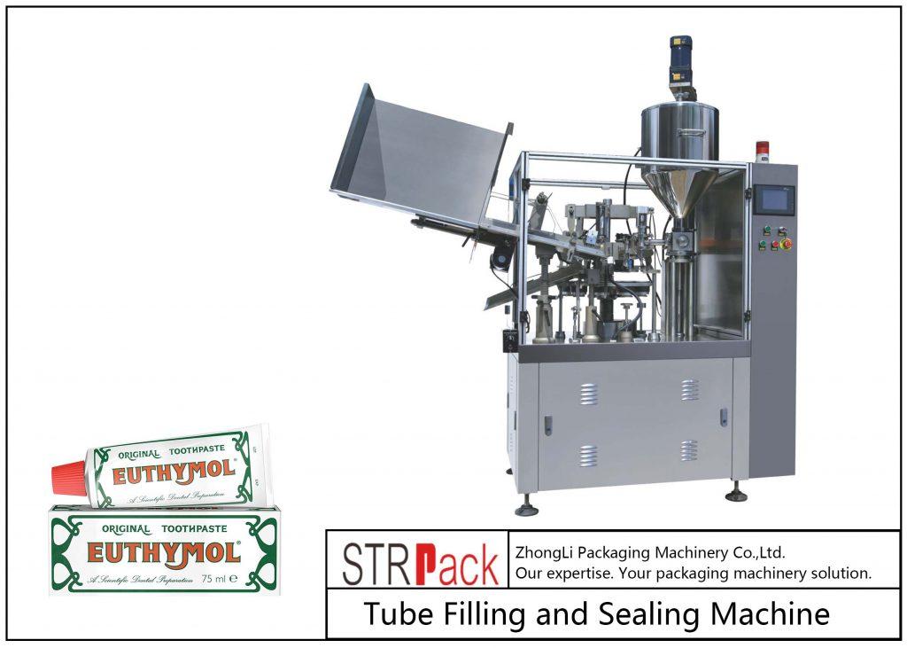 دستگاه پر کردن و آب بندی لوله های فلزی SFS-60Z