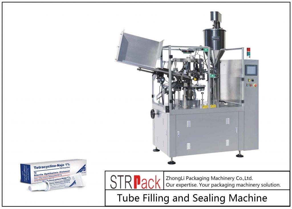 دستگاه پر کردن و آب بندی لوله های فلزی SFS-80Z